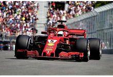 LookSmart Models LS18F1015 Ferrari SF71H #5 'Sebastian Vettel' winner Canadian GP 2018