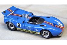 Marsh Models MM284B8 McLaren M1C #8 'Ron Courtney' 16th pl USRRC Mont Tremblant 1968