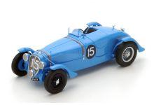 Spark Model 43LM38 Delahaye 135S #15 'Eugene Chaboud - Jean Tremoulet' winner Le Mans 1938