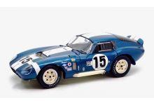 Exoto RLG18015 Shelby Cobra Daytona Coupe #15 'Bob Bondurant - Jo Schlesser' 1st pl GT cl 12hrs of Sebring 1965