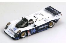 Spark Model S0948 Porsche 962 C #14 Lowenbrau 'Al Holbert - Derek Bell - Al Unser Jr' winner 24 hrs of Daytona 1986