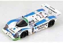 Spark Model S0950 Porsche 962 C #7 Blaupunkt 'Frank Jelinski - Henri Pescarolo - Hurley Haywood - Bob Wollek - John Winter' winner 24 hrs of Daytona 1991