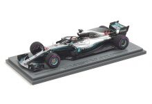 Spark Model S6052 Mercedes-AMG W09 #44 'Lewis Hamilton' winner Grand Prix of Azerbaijan 2018