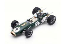 Spark Model 18S370 Brabham BT20 #9 'Denis Hulme' Winner Monaco Grand Prix & F1 World Champion 1967