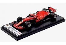 LookSmart Models LSF1015 Ferrari SF71H #5 'Sebastian Vettel' winner Canadian Grand Prix 2018 (Vettel's 50th Victory)
