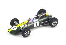 Spark Model S1614 Lotus 33 #1 'Jim Clark' winner Grand Prix of Germany & F1 World Champion 1965