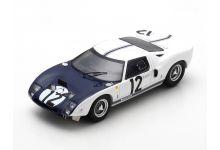 Spark Model S5189 Ford GT40 #12 'Jo Schlesser - Richard Attwood' Le Mans 1964