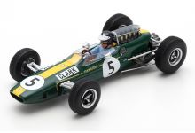 Spark Model S7132 Lotus 33 #5 'Jim Clark' Winner British Grand Prix 1965