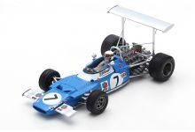 Spark Model S7190 Matra MS80 #7 'Jackie Stewart' winner Spanish Grand Prix & F1 World Champion 1969