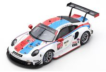Spark Model US072 Porsche 911 RSR #912 'Earl Bamber - Laurens Vanthoor - Mathieu Jaminet' 12th pl 24hrs of Daytona 2019