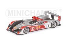 Minichamps 400071601 Audi R10 TDI #1 'Frank Biella - Emanuele Pirro - Marco Werner' winner Le Mans 2007