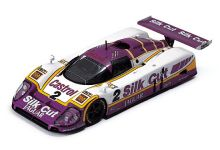 IXO Models LM1988 Jaguar XJR9 #2 Silk Cut 'Jan Lammers - Johnny Dumfries - Andy Wallace' winner Le Mans 1988