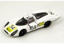Spark Model 43DA68 Porsche 907 LH #54 'Vic Elford - Jochen Neerpasch - Rolf Stommelen - Jo Siffert - Hans Herrmann' winner 24 hrs of Daytona 1968