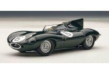 """Auto Art 65586 Jaguar D type #6 """"Mike Hawthorne - Ivor Bueb"""" 1st pl. Le Mans 1955"""