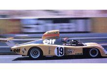 """Spark Model S1551 Alpine Renault A443 #19 """"Jean-Pierre Jabouille - Patrick Tambay - Jose Dolhem"""" Le Mans 1976"""