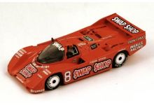 "Spark Model S2989 Porsche 962 Swap Shop #8 "" AJ Foyt - Bob Wollek"" winner 12 hrs of Sebring 1985"