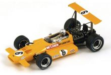 "Spark Model S3125 McLaren M7B #6 ""Bruce McLaren"" 5th pl South African GP 1969"