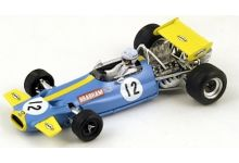 "Spark Model S3508 Brabham BT33 #12 ""Brabham"" Winner South African GP 1970"