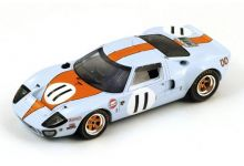Spark Model S4070 Ford GT40 #11 Gulf John Wyer Automotive Engineering 'Jackie Oliver - Brian Muir'  Le Mans 1968