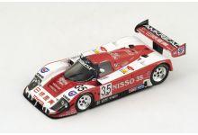 "Spark Model S2368 Toyota 92 CV #35 ""George Fouche - Steven Andskar - Stefan Johansson"" 5th pl Le Mans 1992"