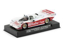 """Slot.It SICA25c Porsche 962 #86 Budweiser """"Jochen Mass - Bobby Rahal"""" 1st pl. 12 hrs of Sebring 1987"""