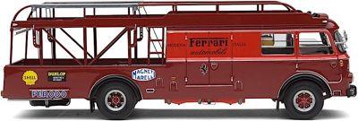 Exoto EXO00012T Fiat-Bartoletti 642 Ferrari Race Car Transporter 1956