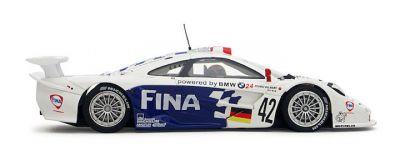 Slot.It SICA10f McLaren F1 GTR #42 FINA 'JJ Lehto - Steve Soper - Nelson Piquet' DNF Le Mans 1997