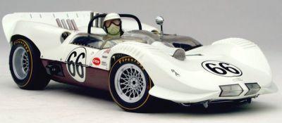 Exoto RLG18145 Chaparral 2A #66 'Ronnie Hissom' 1st pl Road America 500 1965,