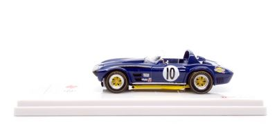 "TrueScale Miniatures TSM124324 Chevrolet Corvette Grand Sport Roadster #10 ""Dick Thompson - Dick Guldstrand"" 12 hrs of Sebring 1966"