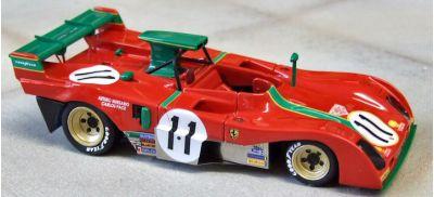 Marsh Models MM282B11 Ferrari 312PB #2 'Carlos Pace - Arturo Merzario' 3rd pl Watkins Glen 1973