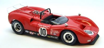Marsh Models MM292B10 McLaren M1B #10 'Chuck Parsons' 6th pl Bridgehampton Can-Am 1966