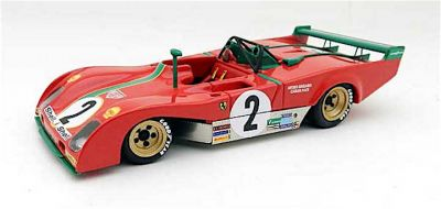 Marsh Models MM272B2S Ferrari 312PB #2 'Carlos Pace - Arturo Merzario' 4th pl Spa 1000 Km 1973