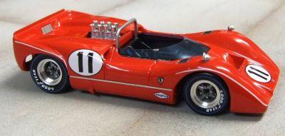 Marsh Models MM278B11 McLaren M6B #11 'Lothar Motchenbacher' 2nd pl USRRC Mid Ohio 1968