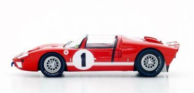 Spark Model 43SE66 Ford GT-X1 (MkII Roadster) #1 'Ken Miles - Lloyd Ruby' winner 12 hrs of Sebring 1966