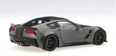 TSM-Model TSM430229 Chevrolet Corvette Grand Sport (Watkins Glen Gray Metallic)