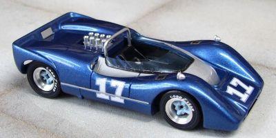 Marsh Models MM277B17 McLaren M6B #17 'Jerry Titus' 3rd pl Can-Am Las Vegas 1968