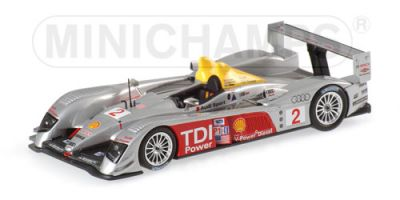 Minichamps 400061602 Audi R10 #2 'Rinaldo Capello - Tom Kristensen - Allan McNish' winner 12 hrs of Sebring 2006