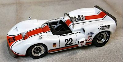 Marsh Models MM288B McLaren M1B 'Mike Spence' 3rd pl Las Vegas Can-Am 1967