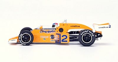 "Spark Model 43IN76 McLaren M16C #2 Hy-Gain Special ""Johnny Rutherford"" Winner Indy 500 1976"