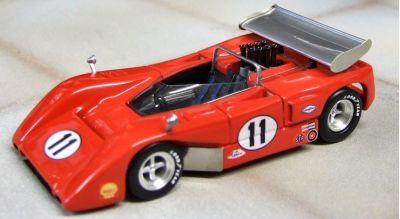 Marsh Models MM256 McLaren M8B Motschenbacher Racing #11 'Lothar Motschenbacher' 2nd pl Can-Am Mont-Tremblant 1970