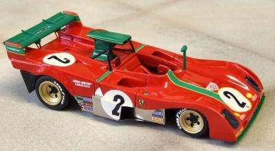 Marsh Models MM282B2ZFerrari 312PB #2 'Carlos Pace - Arturo Merzario' 6th pl Zeltweg 1973