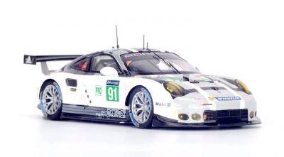 Spark Model S5134 Porsche 911 RSR (2016) #91 'Patrick Pilet - Kevin Estre - Nick Tandy' LMGTE Pro Le Mans 2016