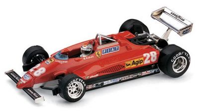 "Brumm R288CH Ferrari 126C2 #28 ""Mario Andretti"" 3rd pl Italian Grand Prix 1982"