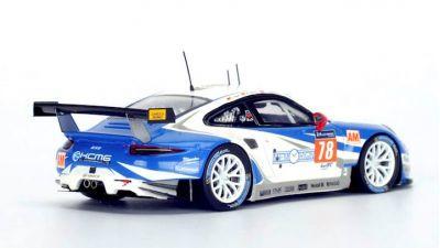 Spark Model S5140 Porsche 911 RSR #78 'Christian Ried - Wolf Henzler - Joel Camathias' LMGTE Am Le Mans 2016