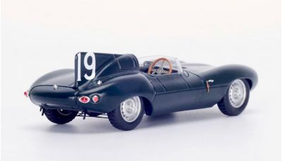 Spark Model 43SE55 Jaguar D Type #19 'Mike Hawthorn - Phil Walters' winner 12 hrs of Sebring 1955