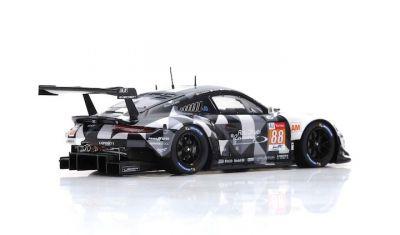Spark Model S7042 Porsche 911 RSR #88 Dempsey-Proton Racing 'Matteo Cairoli - Khaled Al Qubaisi - Giorgio Roda' Le Mans 2018