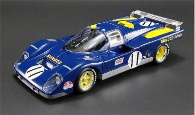 GMP M1801001 Ferrari 512 M #11 Sunoco Penske-White Racing 'Mark Donohue - David Hobbs' DNF Le Mans 1971