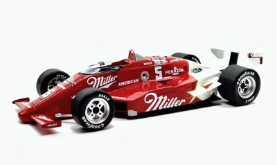 Replicarz R18020 March 85C Miller Beer #5 'Danny Sullivan' Winner Indianapolis 500 1985