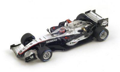 "Spark Model S4363 McLaren MP4-20 #9 ""Kimi Raikkonen"" Winner Monaco Grand Prix 2005"