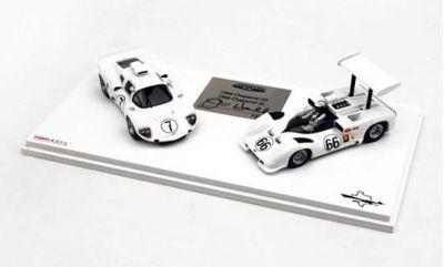 TSM-Models TSM11SS2 Chaparral Set #1: Chaparral 2D & Chaparral 2E 1966